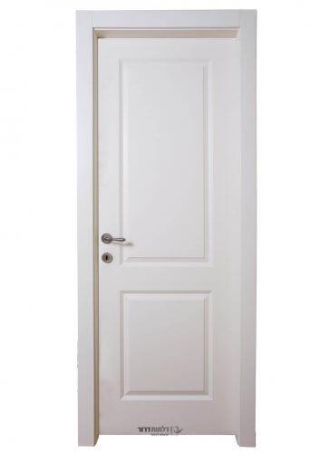 דלת צבע אפוקסי דגם 2 פאנל ישר