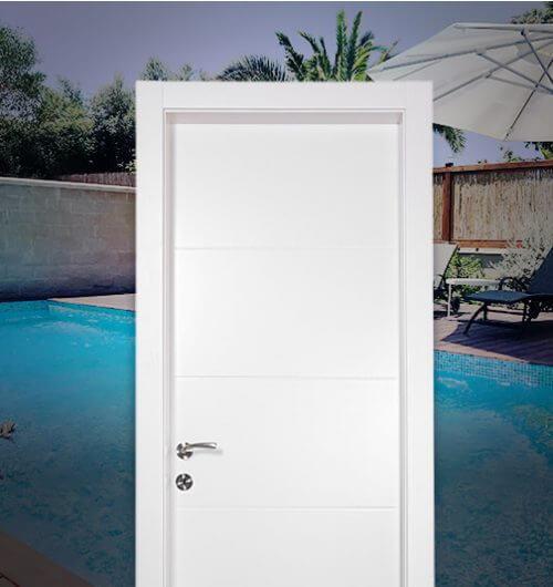 דלתות פנים עמידות למים