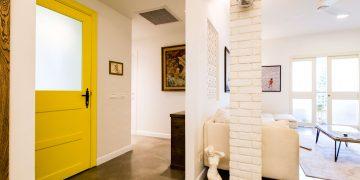 דירה בבנין היסטורי לשימור תל אביב