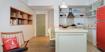 עיצוב דירה במרכז תל אביב