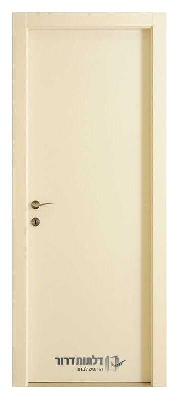 דלתות פנים עמידות במים בצבע לבן