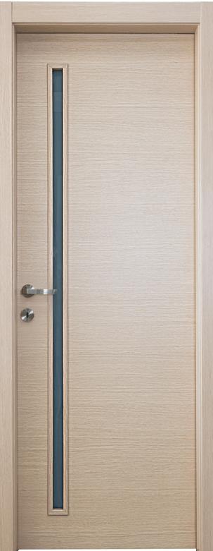 דלת פנים מעוצבת עם ציר פייפ