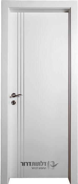 דלת פנים ניקל אורך לבן