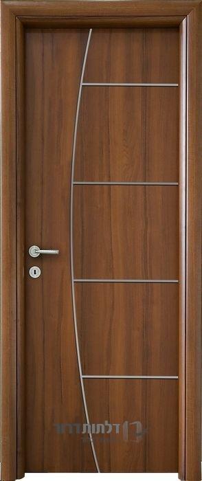 דלת פנים ניקל חץ וקשת אגוז