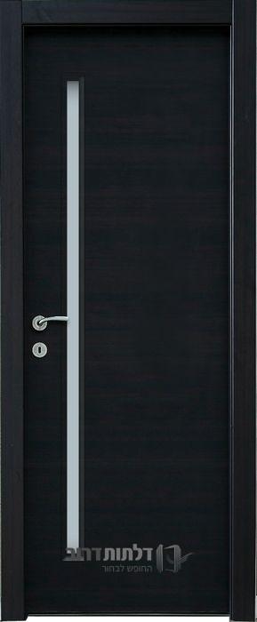 דלת פנים צוהר דקורטיבי מאורך וונגה
