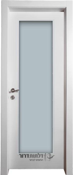 דלת פנים צוהר ונוס לבן