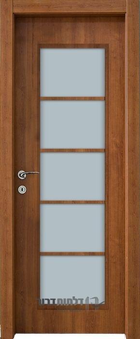 דלת פנים צוהר יפני דובדבן
