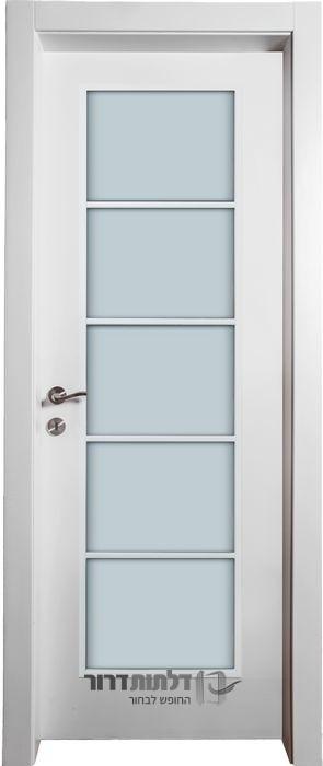 דלת פנים צוהר יפני לבן