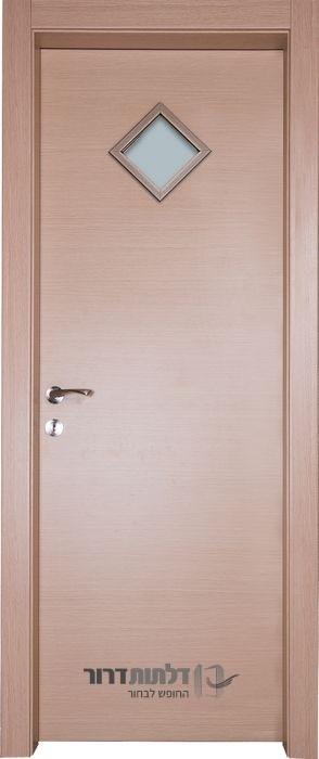 דלת פנים צוהר מעויין אלון מולבן