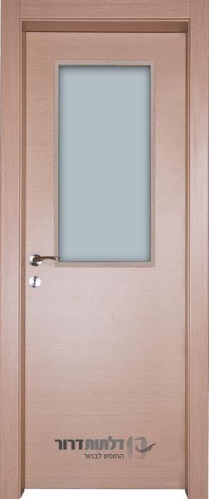 דלת פנים צוהר מרכזי אלון מולבן