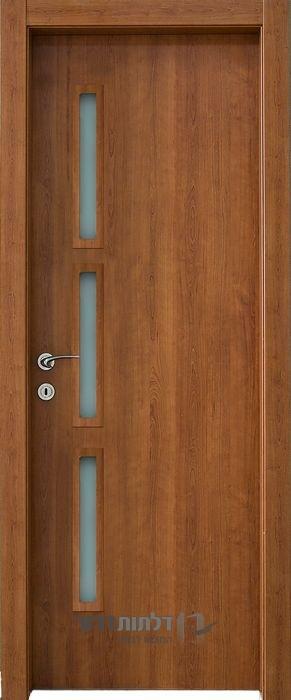 דלת פנים צוהר צד 12_50 דובדבן