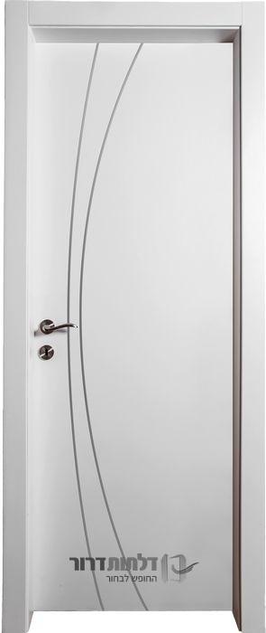 החלפה של דלת פנים ניקל k לבן