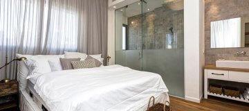 עיצוב חדר שינה בסגנון מודרני עם הדלתות פנים שלנו