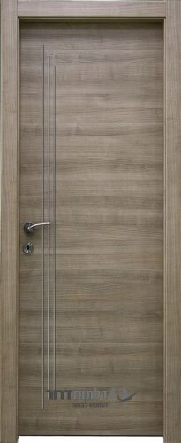 דלתות אקוסטיות דגם קפה ניקל מדורג