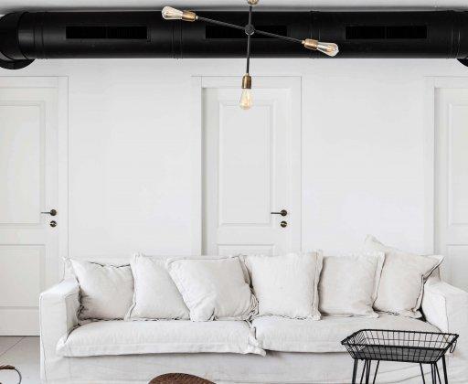 עיצוב בית לבן ברמת השרון