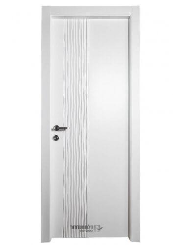 דלת פנים לבנה מדגם גאלה