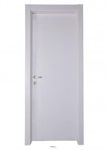 דלת פנים פשוטה מדגם פאנל