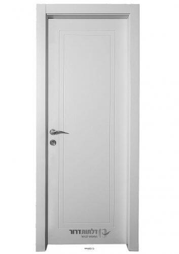דלת פנים פשוטה בצבע אפוקסי